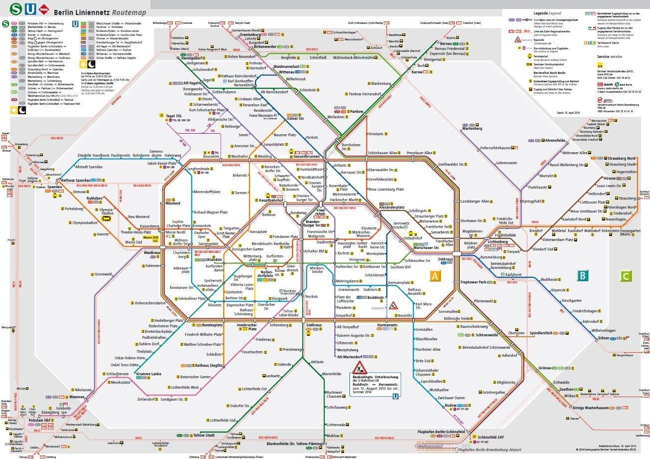 berlin bvg karte Bvg Karte   Berlin bvg Karte (Deutschland) berlin bvg karte