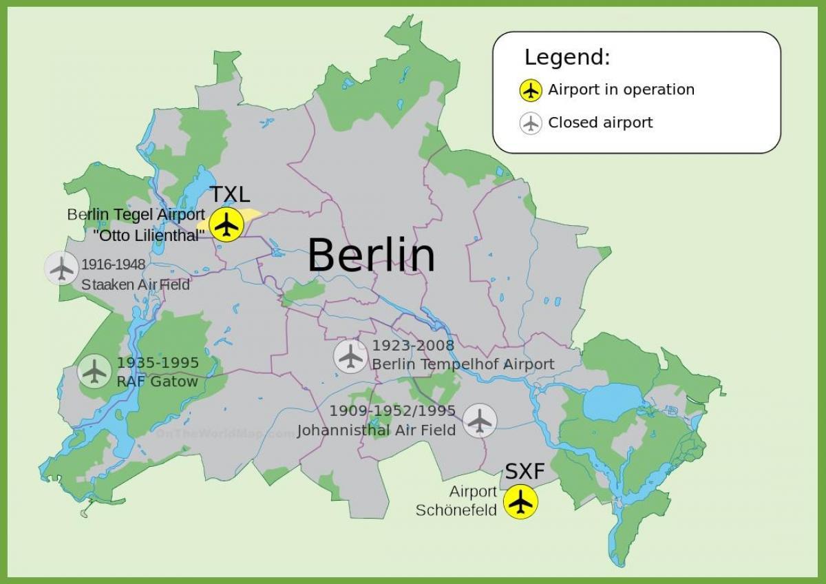 Flughäfen Deutschland Karte.Flughafen Tempelhof Map Karte Des Flughafen Tempelhof Deutschland