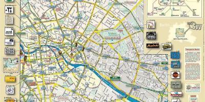 Berlin Zoo Karta.Berlin Karte Karten Berlin Deutschland
