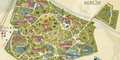 Berlin Karte Karten Berlin Deutschland