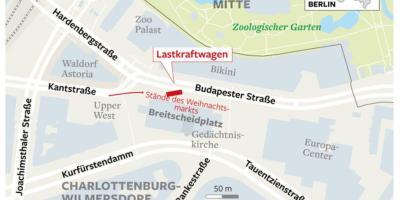 West Berlin Karte.Berlin Karte Karten Berlin Deutschland